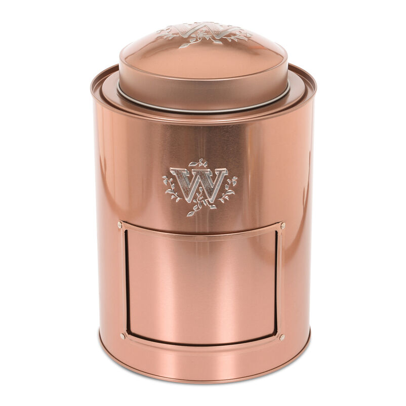 Large Copper Coffee Caddy