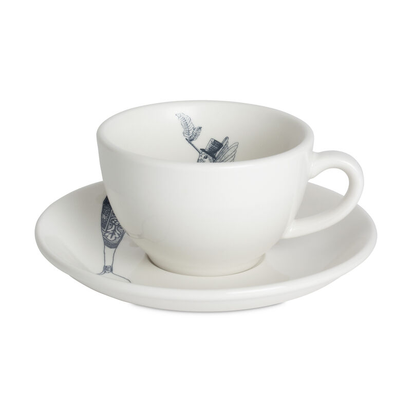 Serendipity Cappuccino Cup & Saucer