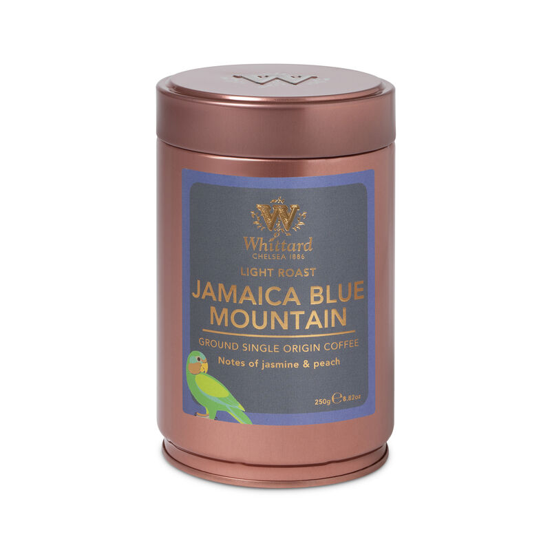 Jamaica Blue Mountain Ground  Coffee Caddy