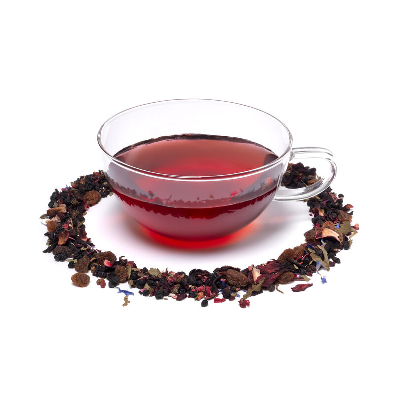 Very Berry Crush Loose Infusion in Teacup