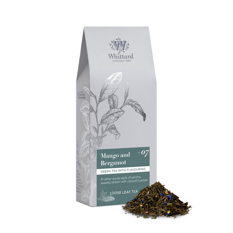 Mango & Bergamot Loose Tea Pouch, 100g