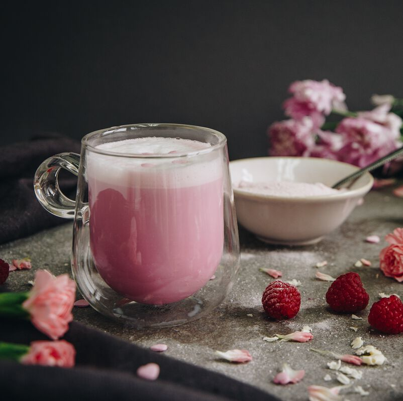 Raspberry Ripple Hot Chocolate in our Nova Mug