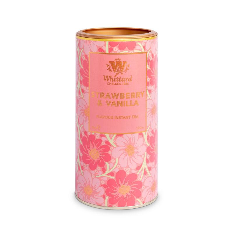 Strawberry & Vanilla Flavour Instant Tea