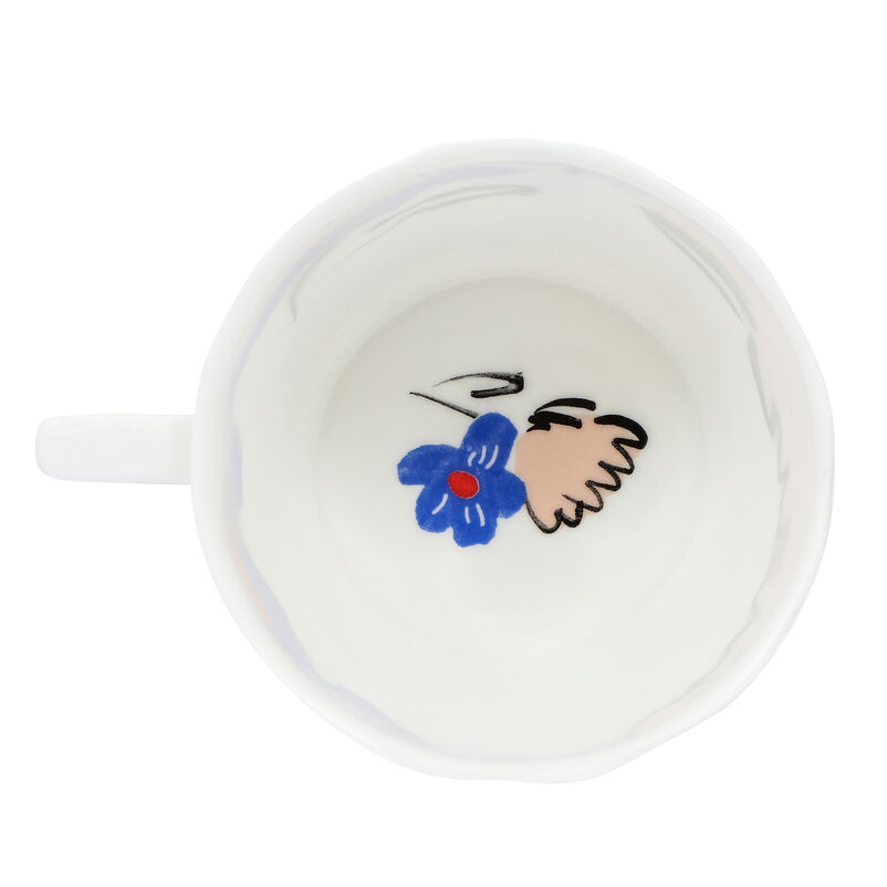 Covent Garden Fluted Mug