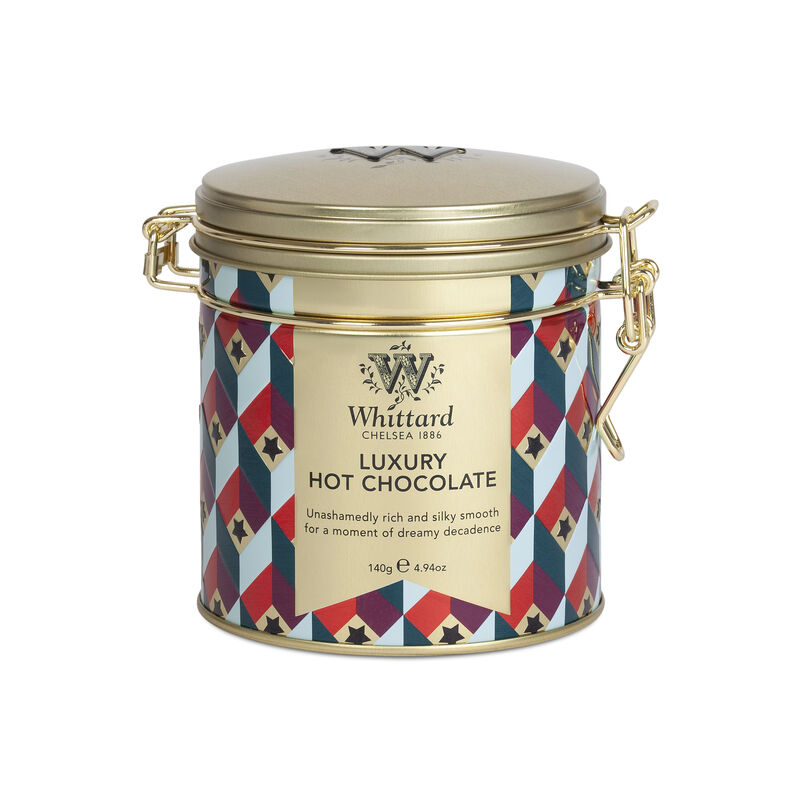 Luxury Hot Chocolate Clip Top Tin
