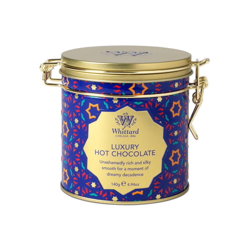 Luxury Hot Chocolate Clip Top Tin