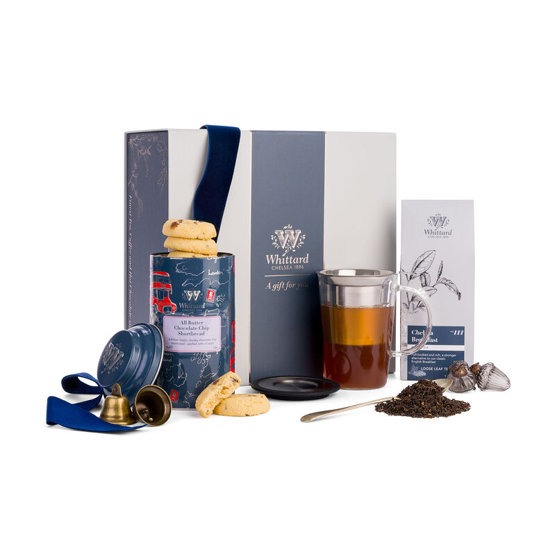 The Tea for One Gift Box with ribbon