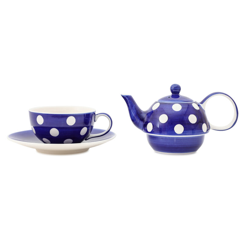 Florence Cobalt Tea-for-One