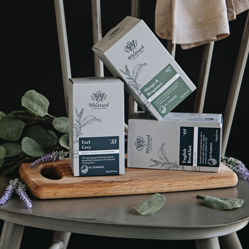 Selection of Whittard Traditional teabags