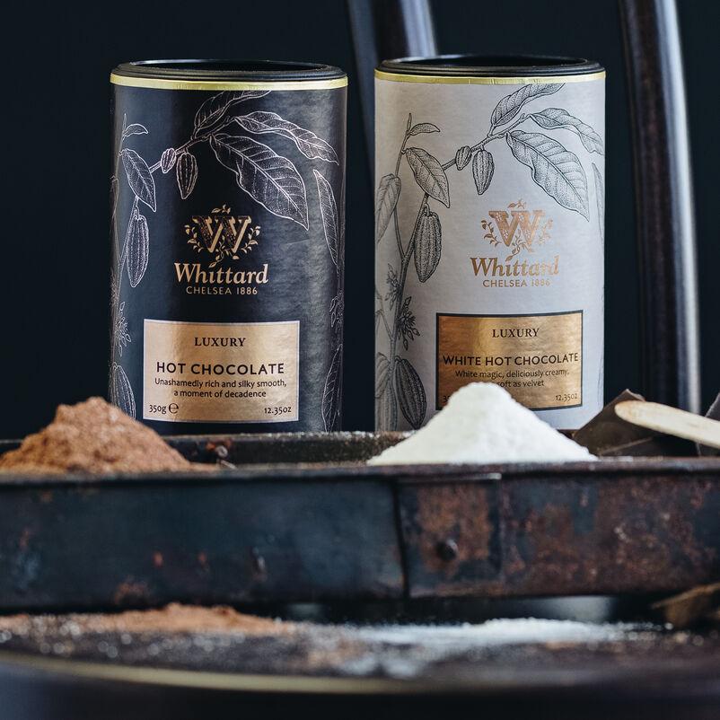 Luxury Hot Chocolate Pair with Hot chocolate powder