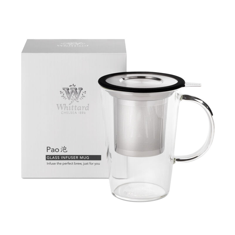 Glass Pao Infuser Mug