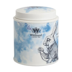 Ceramic White Rabbit Fine China Tea Caddy