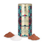 Flavoured hot chocolate stacking tin
