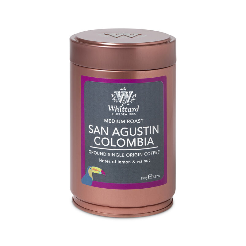 San Agustin Colombia Ground Coffee Caddy
