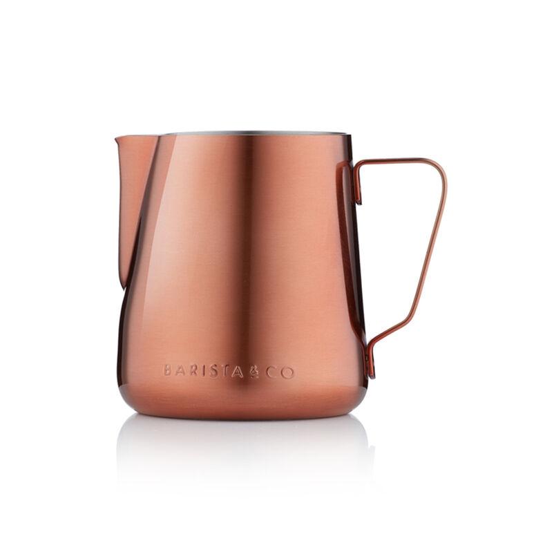 Barista & Co. Stainless Steel Copper Milk Jug