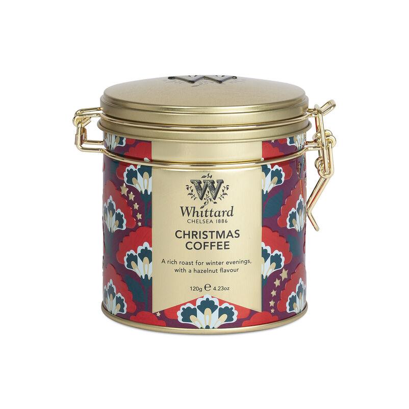 Christmas Coffee Clip Top Tin