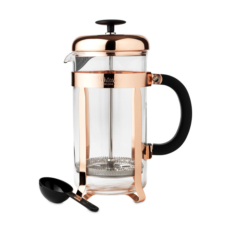 Whittard Copper 8-Cup Cafetière