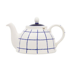 Solent Check Teapot with Infuser
