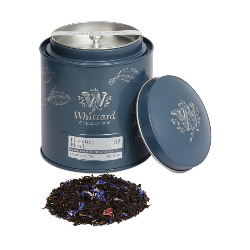 Piccadilly Loose Blend Tea Caddy