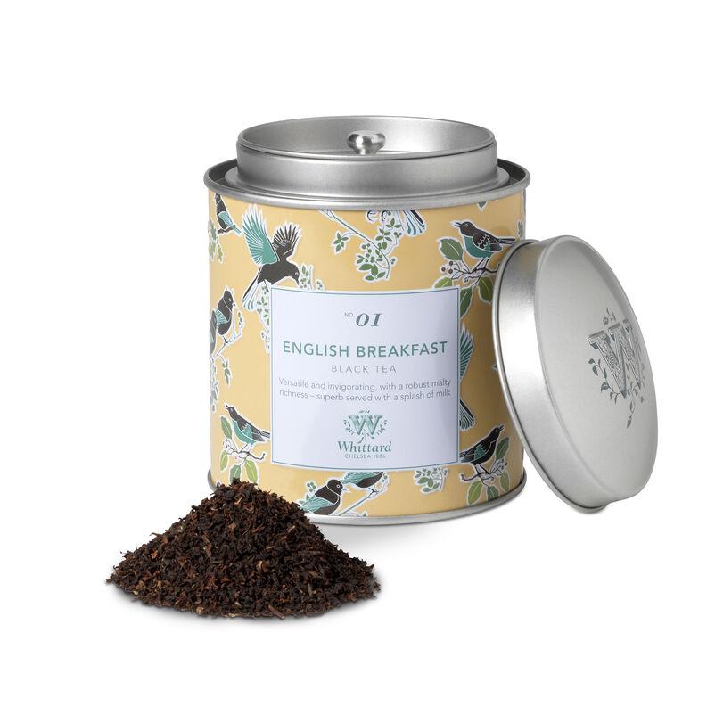 Tea Discoveries English Breakfast Tea Caddy