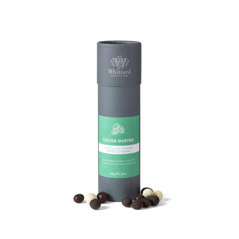 Cocoa Dusted Milk Chocolate Espresso Beans