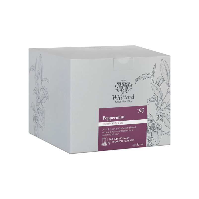 Box of 200 Peppermint Teabags