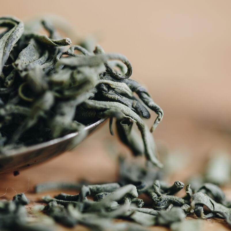 Matcha Guricha Loose Tea closeup