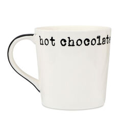 Hot Chocolate Font Mug