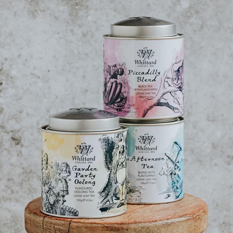 Garden Party Oolong Alice Tea Caddy