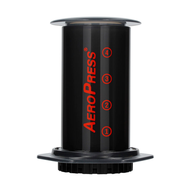 AeroPress depressed, making you your perfect coffee