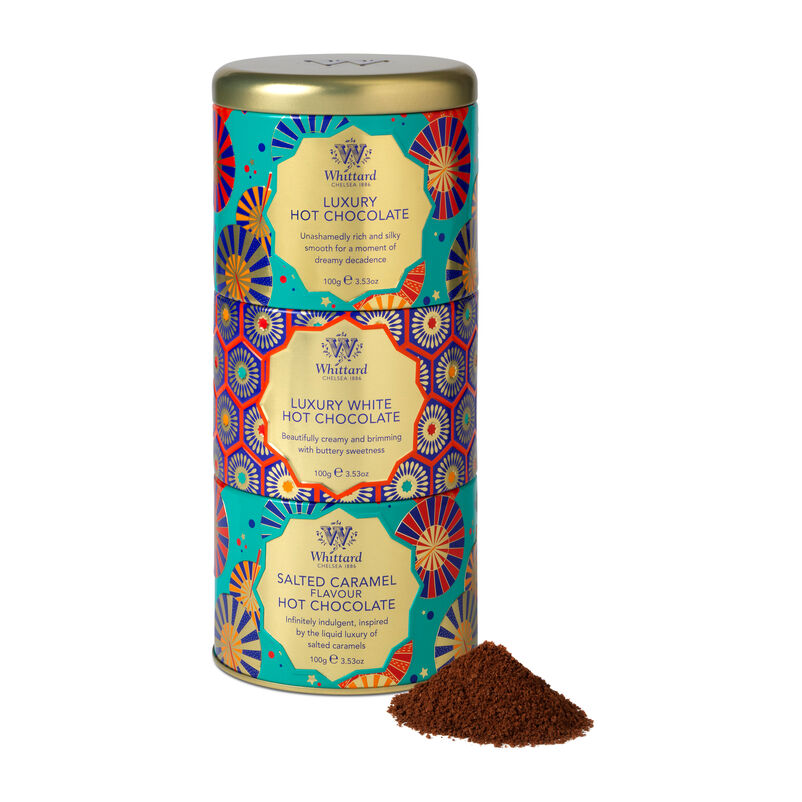 Hot Chocolate Stacking Tin