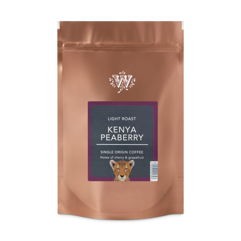 Kenya Peaberry Coffee Beans Pouch