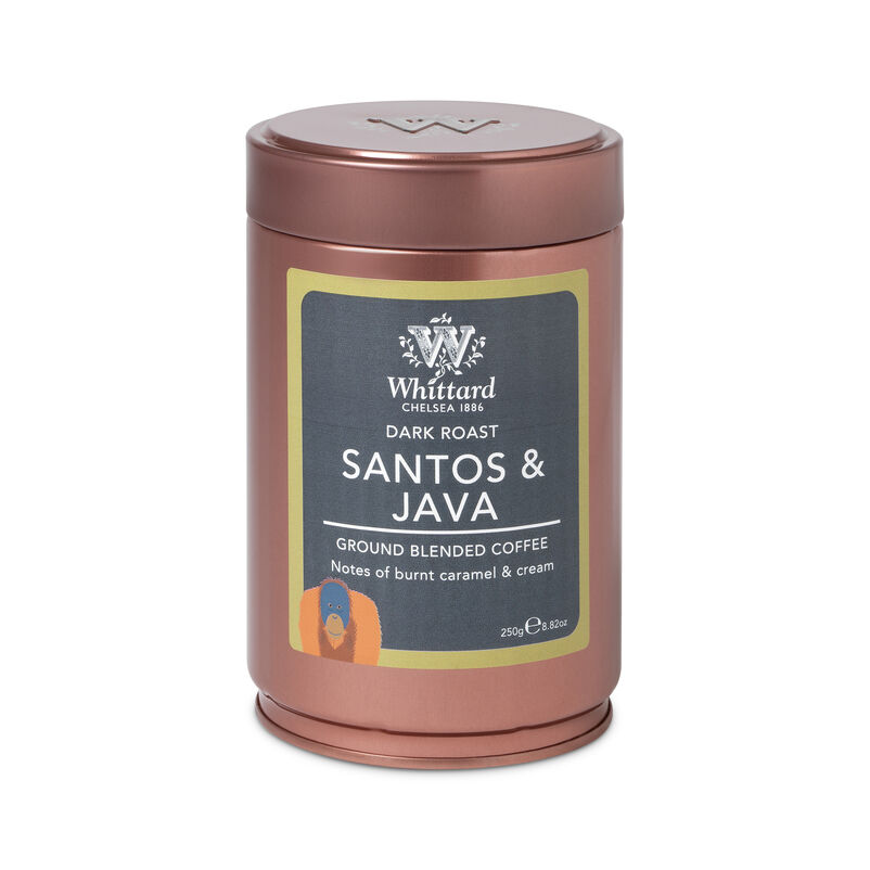 Santos and Java Ground Coffee Caddy