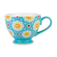 Teal Iris Mug