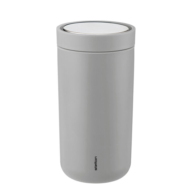 Stelton Grey Travel Mug 200ml