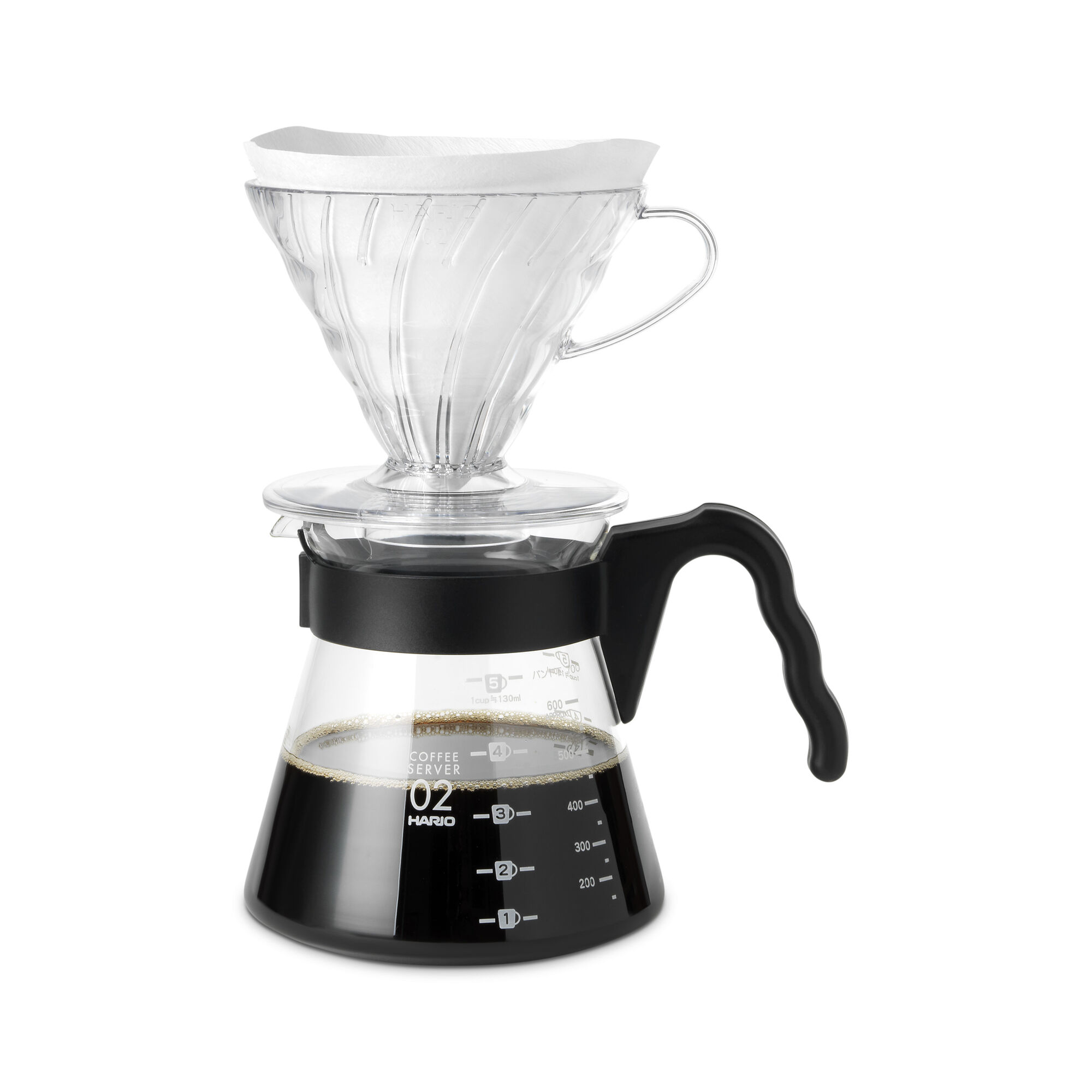 V60 Coffee Server Black Coffee Equipment Whittard Of