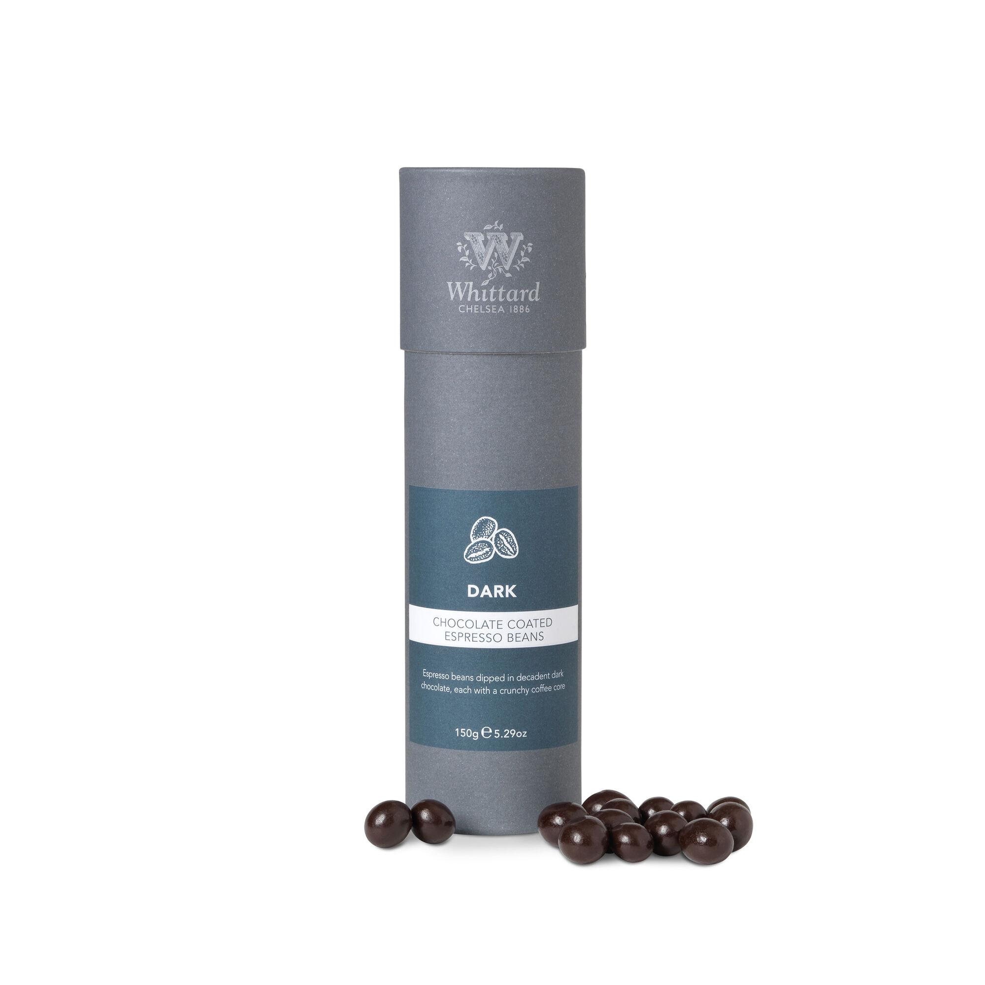 Dark Chocolate Coated Espresso Beans Whittard Of Chelsea