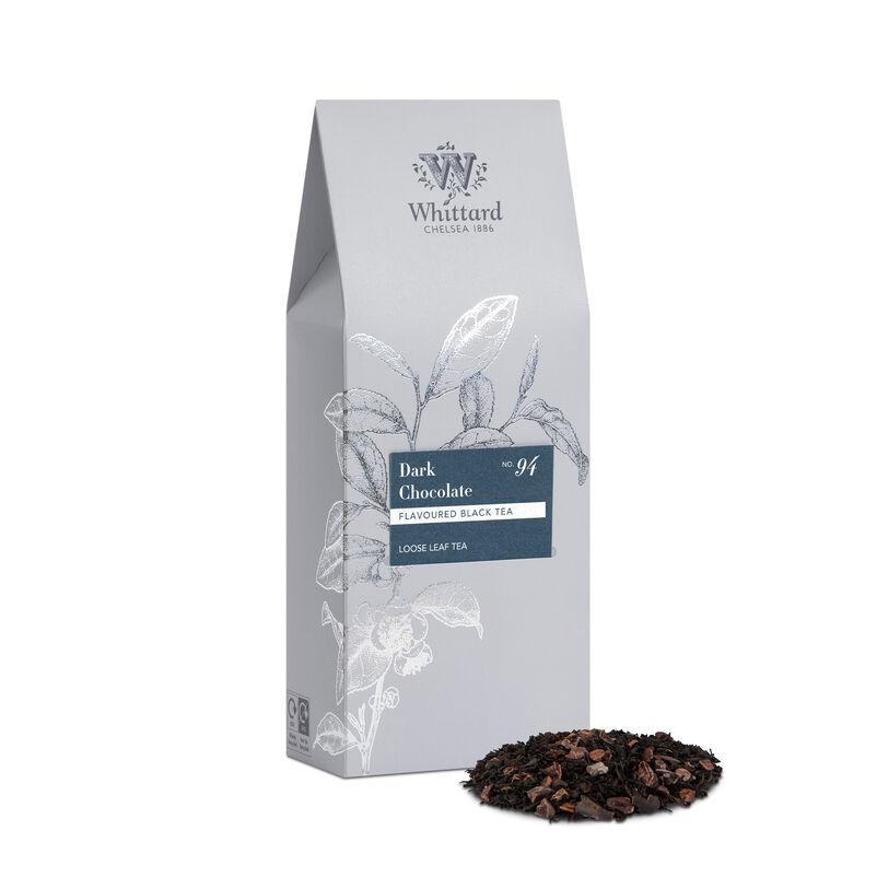 Dark Chocolate Loose Tea Silver Pouch