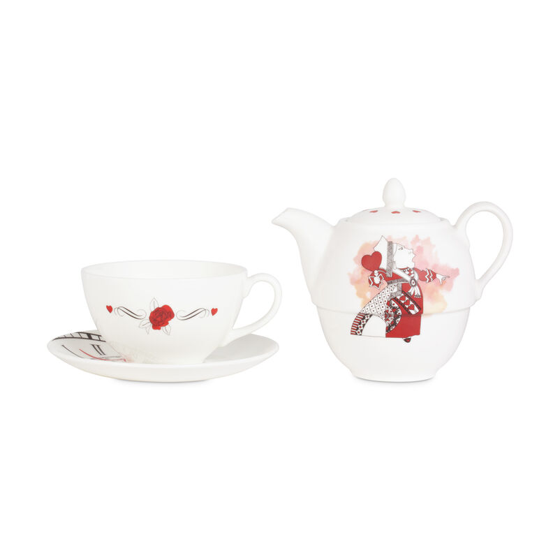 Limited Edition Queen of Hearts Tea-for-One