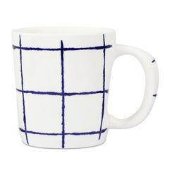 Solent Blue Check Mug