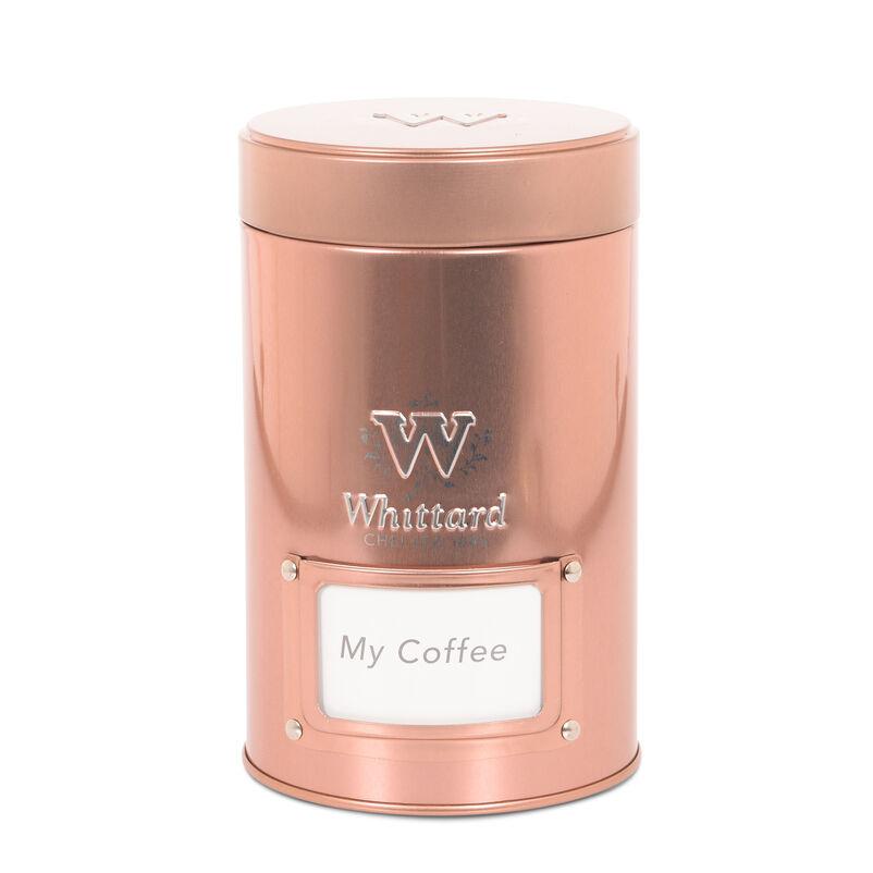 Small Copper Coffee Caddy