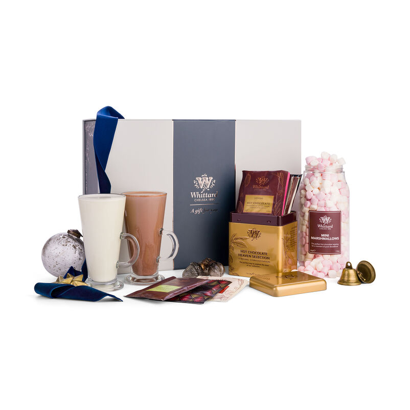 The Hot Chocolate Discovery Gift Box styles for Christmas