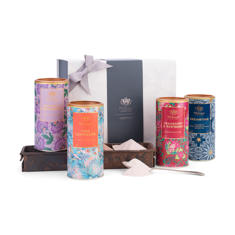 Image of Instant Tea Gift Box with Pink Lemonade, Dreamtime, Cranberry & Raspberry and Mango & Passionfruit