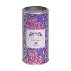 Blueberry Cheesecake White Hot Chocolate