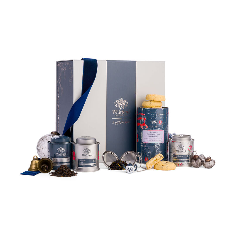 The Best of British Gift Box with ribbon