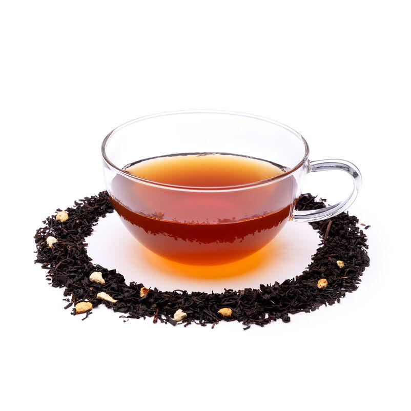 Smoky Earl Grey Loose Tea in Teacup