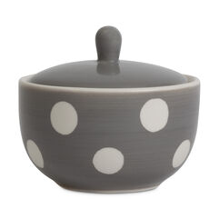 Florence Grey Sugar Bowl