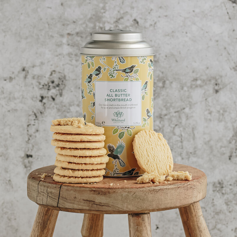 All Butter Shortbread and Tin