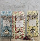 Range of Earl Grey, English Rose and English Breakfast Tea Pouches and Infusers