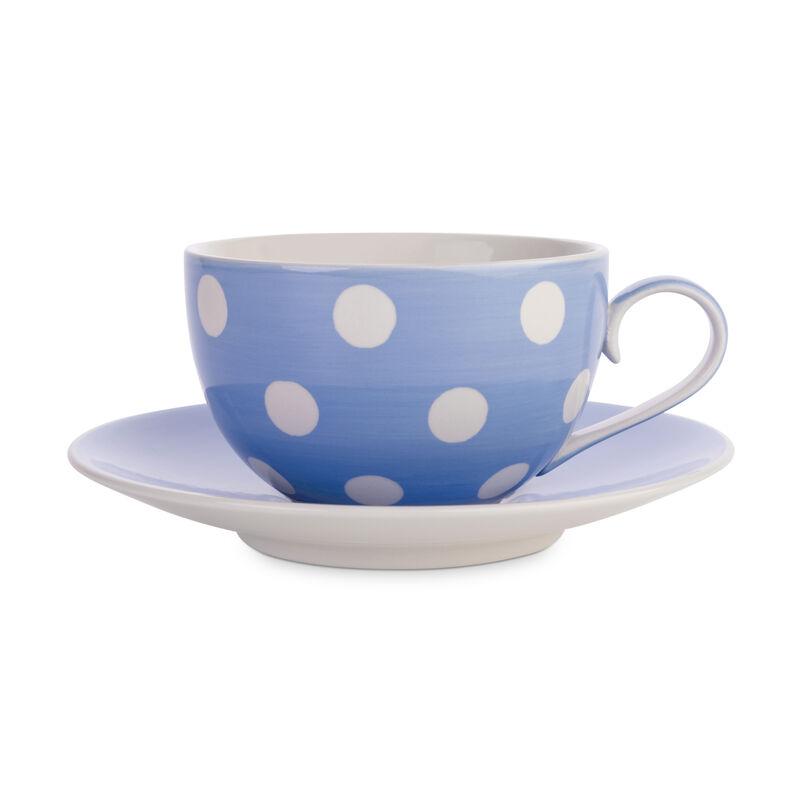 Cornflower Blue Florence Cup & Saucer